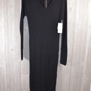 NWT Just Fab Stretch Zipper Dress PLUS SIZE XL